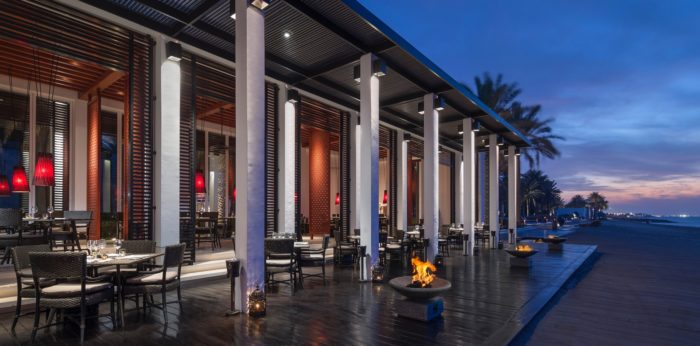 The Chedi Muscat-The Beach Restaurant