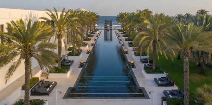 The Chedi Muscat - The Long Pool