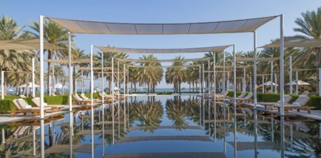 The Chedi Muscat-The Serai Pool